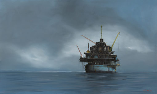 Oil Rig 854