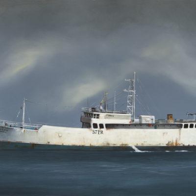 Tanker In White 855